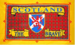 Scotland The Brave Flags